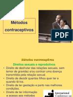 Metodos Contraceptivos EACH 2013