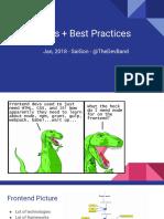 Reactjs - Best Practices in actions
