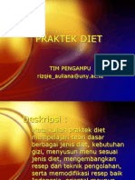 Praktek Diet-pengantar&Jenis Diet
