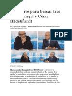 Diez Libros Para Buscar Tras Oír a Denegri y César Hildebrandt