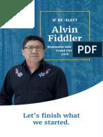 Re-Elect Alvin Fiddler