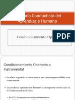 Condicionamiento Operante y Clasico