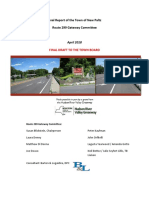 Final Report of the Town of New Paltz Route 299 Gateway Committee
