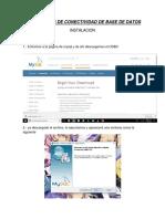 Tecnologías de Conectividad de Base de Datos Odbc Jdbc Ado