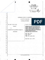 TAITZ v DUNN - 41 - ORDER - OTHER (DENIED) FILED BY DUNN, DAMON ON 09/10/2010    09/10/2010