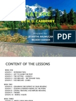 Lesson Plan- Nature by Hd Carberry