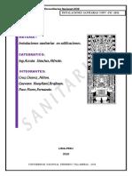 Formulario Unico de Edificacion FUE II
