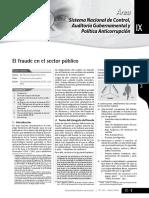 El Fraude en El Sector Publico