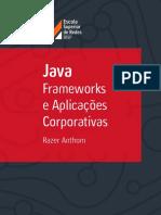 Razer Anthom - Java - Frameworks e Aplicações Corporativas (2016, Escola Superior de Redes).pdf