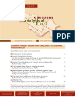 Caucasus Analytical Digest 104