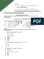 Ecuacion Cuadratica 2 Medio 2018
