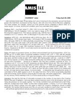 Fax Sample