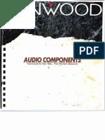 Kenwood Audio Components (1990)
