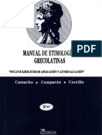 Manual de Etimologias Grecolatinas