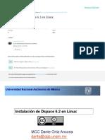 Instalación de DSPACE en linux (Versión 6.2)