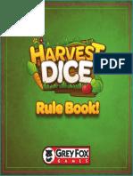 Harvest Dice Rulebook