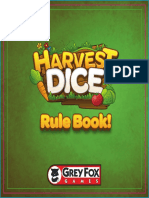 Harvest Dice Rulebook