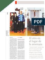 Vilar, Eduardo - El Otro Lugar en La Amenaza