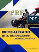Edital Verticalizado PRF Focus Concursos