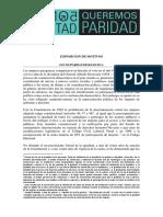 Ley de paridad de Paraguay