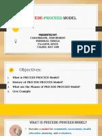 Precede Procede Model