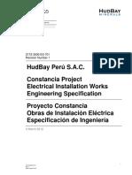 2172 3000 ES 701 Rev1 Obras de Instalacion Electrica