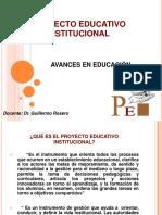 Proyectoeducativoinstitucional Copia 120517094311 Phpapp02