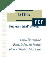 1_Etica Base Del Éxito Profesional