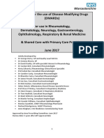 DMARD Shared Care Guidelines June 2017