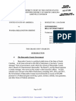 As Filed - Superseding Greene Indictment