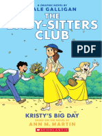 Kristy's Big Day (The Baby-sitters Club Graphix #6 Excerpt)