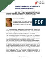 Entrevista a Guillermina Tiramonti
