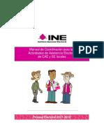 Manual de Coordinación para las  Actividades de Asistencia Electoral  de CAE y SE locales .pdf