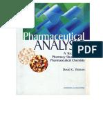 Pharmaceutical Analysis - Watson.pdf