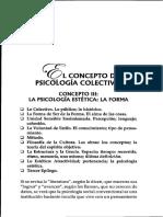 El concepto de psicología colectiva