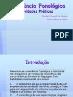 Consciencia Fonologica Atividades Praticas Ppt