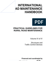 International Road Maintenance Handbook