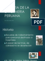Historia de La Enfermeria Peruana
