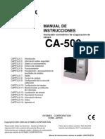 Manual Centrifuga CA500