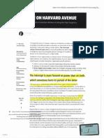 Lori Swanson campaign provided articles on The Intercept