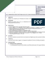 Directiva Del Uso Del Sw