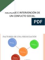 Como Abordar Los Conflictos Sociales -Diplomado