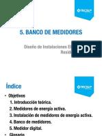 Unidad 5 Banco de Medidores