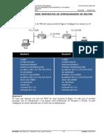 Juego de Ejercicios Configuracion de Router-TELEMATICA