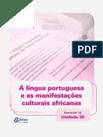Ceja Lingua Portuguesa Unidade 38