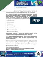 Evidencia 5 Documentos de Embarque