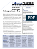 Atrial Fibrillation in the ED Cardioversion Rate Control Anticoagulation and More