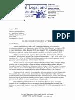 Sen. Robert Menendez Freedom of Information Act Request