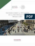 Informe sobre la situación de la seguridad vial, México 2017