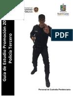 guia de estudio policia tercero